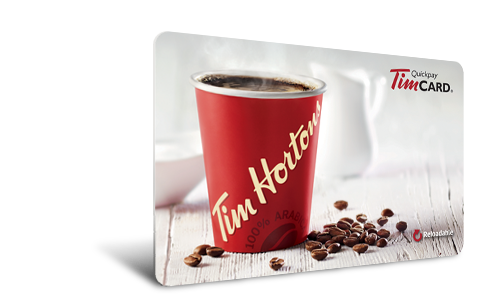 Tim Horton's Gift Card